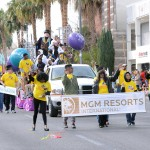 Every year on Martin Luther King, Jr. Day, thousands of people line a street in Downtown Las Vegas to commemorate his legacy of promoting equal and human rights.